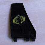 GI Joe 1987 Mamba Helicopter Spare rear fin